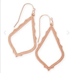 "Kendra Scott ""Sophia"" Rose Gold Earrings"